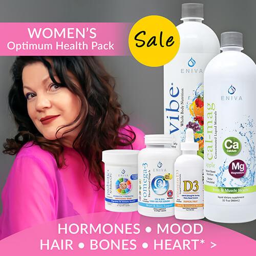 """""""women's health bones hormones mood natural menopause relief"""